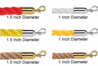 Twisted Polypropylene & Hemp Ropes