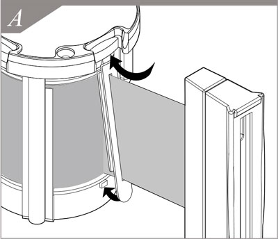belt mechanism installation A