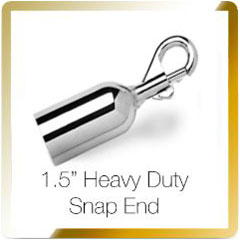 rope heavy duty snap end