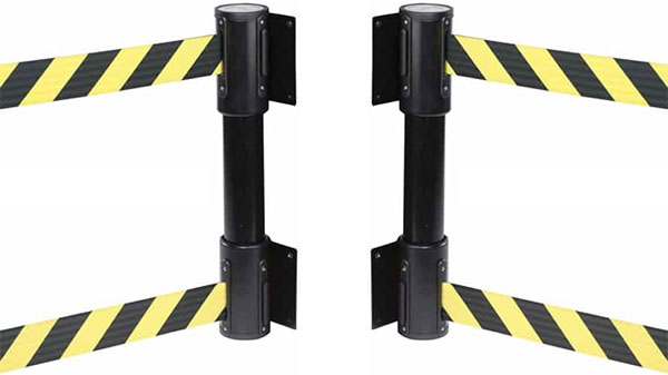 Double Belt Wall Mounted Barriers