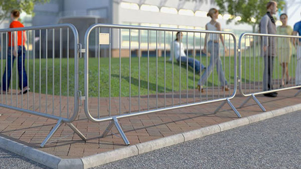 Lightweight Crowd Control Steel Barricades