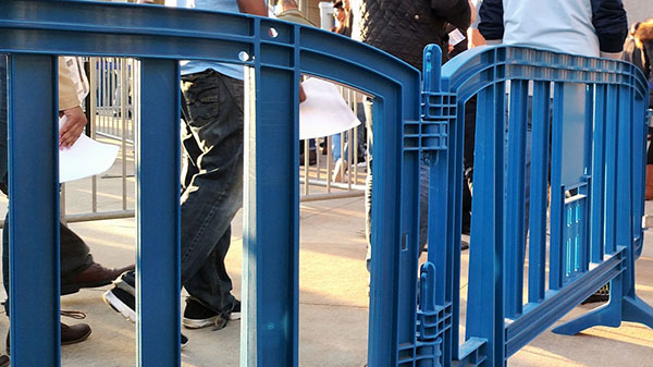 Plastic Crowd Control Barriers Movit & Minit