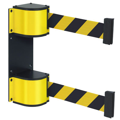 Wall Mount Dual Belt Safety Barrier