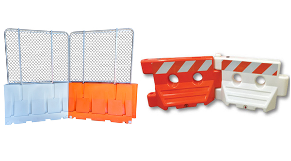 Water Fillable Jersey Barriers