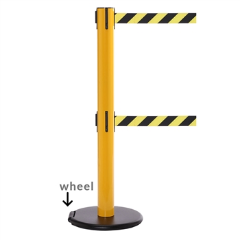Retractable Barrier Tape Rollersafety 300 Twin Long 16