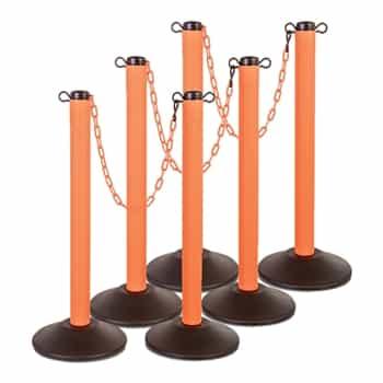 Retractable Belt Stantions Kit Chainboss Indoor Outdoor